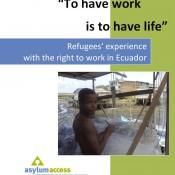 Asylum Access Refugee Access to Work