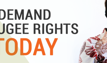 Demand Refugee Rights Today 2