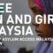 Refugee Women in Malaysia